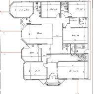 مخطط دور واحد مساحة 400 House Floor Design Model House Plan Family House Plans