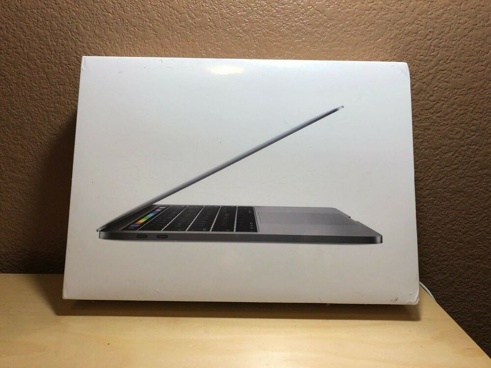 Brand New 2018 Apple Space Gray Macbook Pro 13 256gb 2 3ghz 8gb I5 Sealed 87 Bids