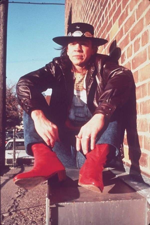 Stevie Ray Vaughan in the 80's