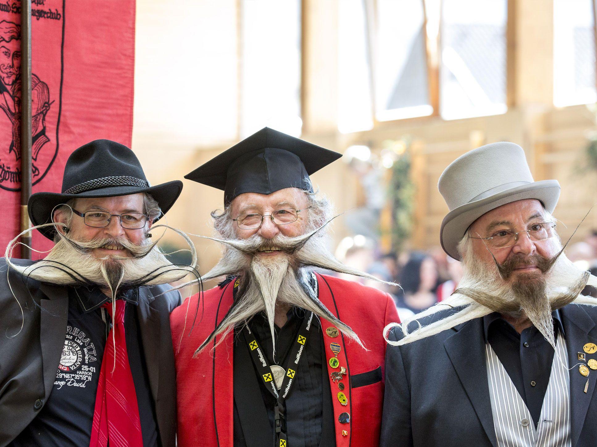 El Campeonato Mundial de Barbas y Bigotes se llevó a cabo en Austria. | Farandulaya