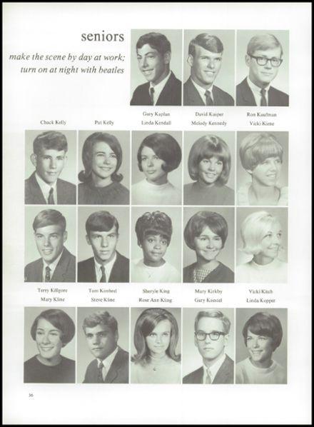 1968+Hutchinson+High+School+Yearbook+via+Classmates.com
