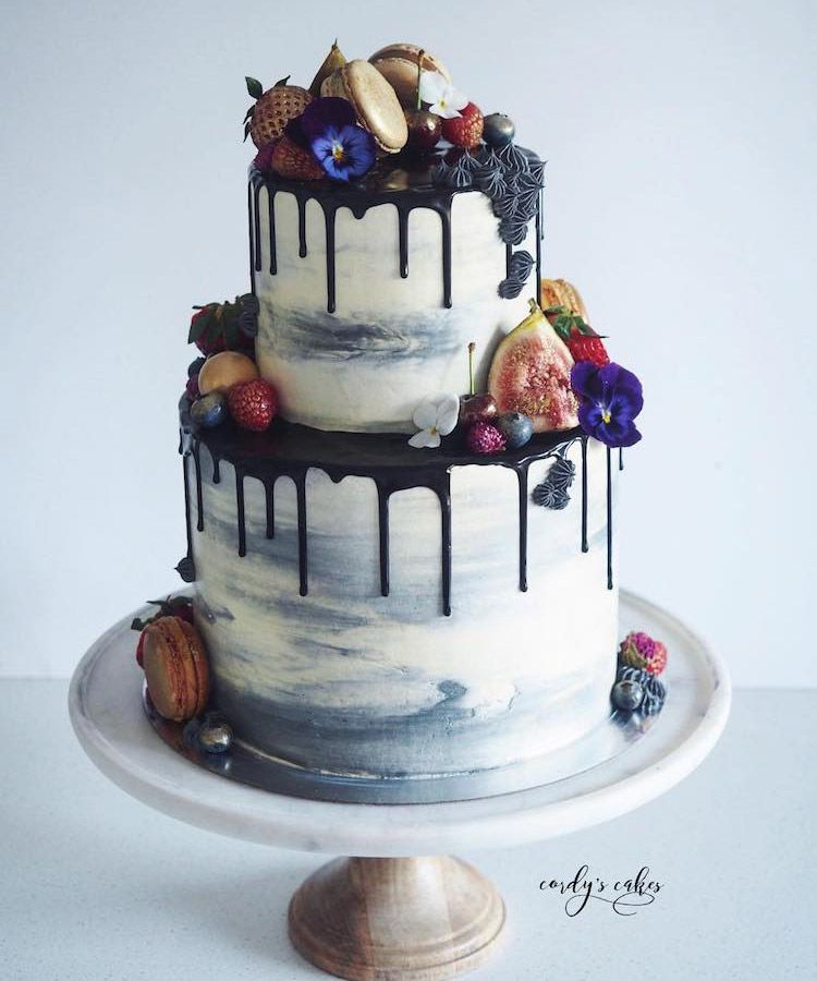 Awe Inspiring The 20 Most Drool Worthy Drip Cakes On Pinterest With Images Funny Birthday Cards Online Alyptdamsfinfo