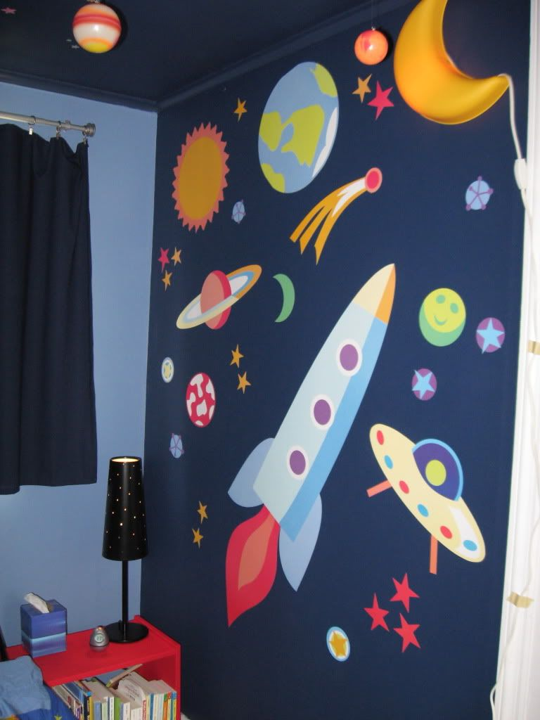 Outer Space Room Decor For Kids