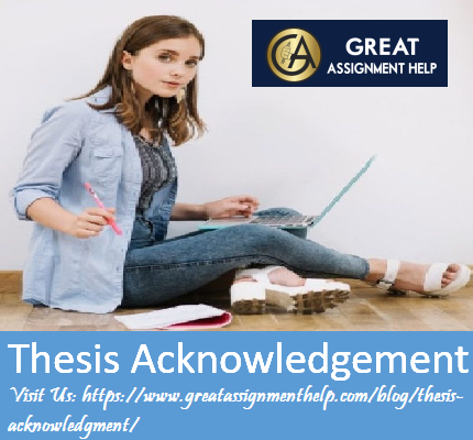 How To Write A Phd Thesi Acknowledgement Writing An Page For Undergraduate Dissertation
