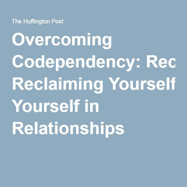 How to stop codependency in marriage