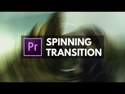 Adobe Premiere Pro CC: Smooth Spin Blur Rotation Transition