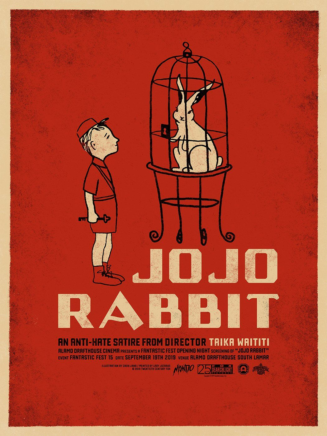 Resultado de imagen de jojo rabbit creative poster
