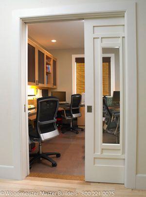Swinging Doors Can Block Or Occupy Desirable Wall Space (when The Door Is  Open)