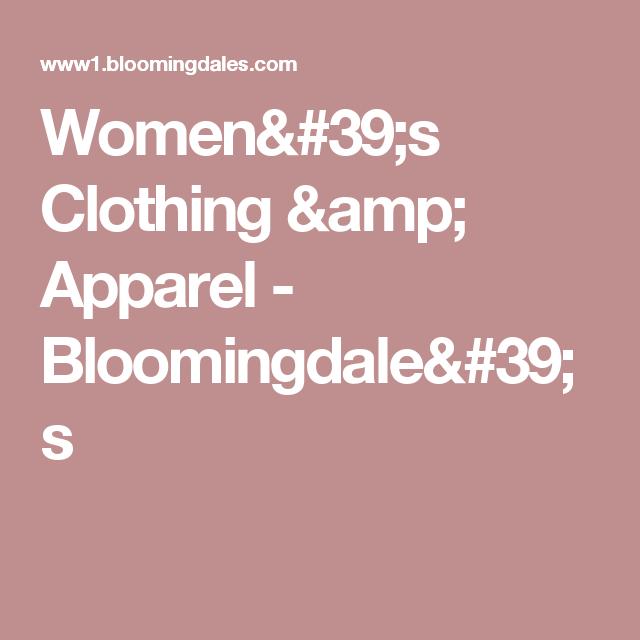 Women's Clothing & Apparel - Bloomingdale's