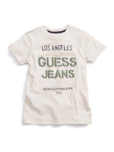 1004301b570b GUESS Kids Boys Short-Sleeve Crewneck Tee Scribble « Clothing Impulse