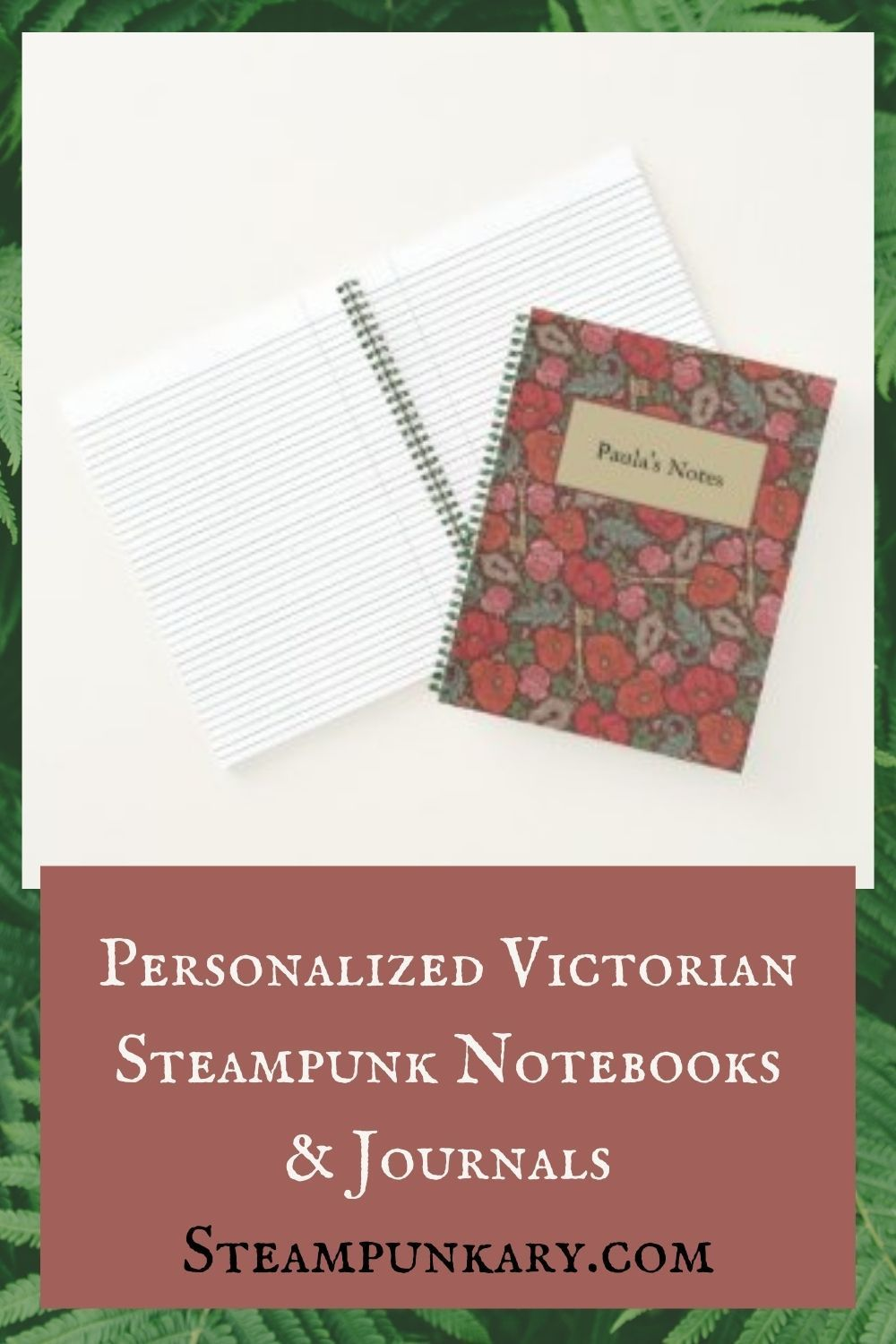 Victorian Steampunk Christmas 2020 Photos Personalized Victorian Steampunk Notebooks & Journals
