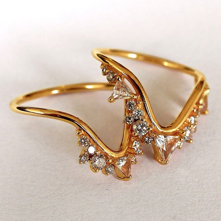 South Indian ring Gold ring designs, Indian rings