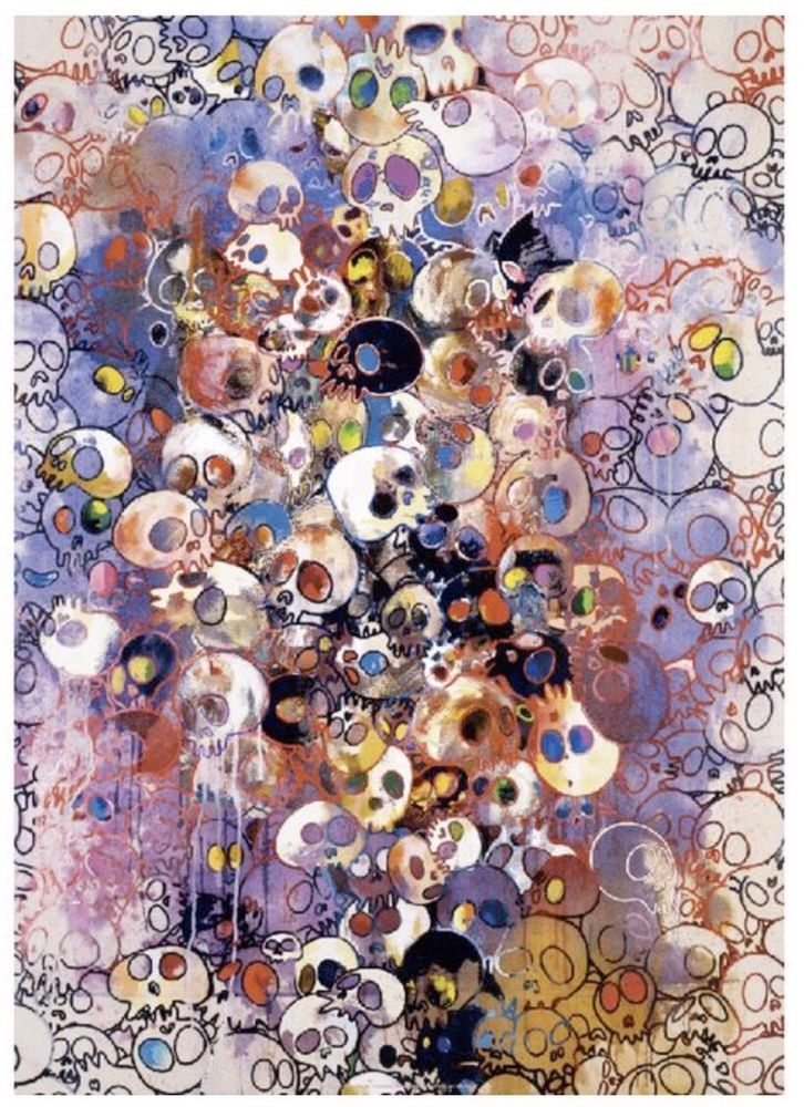 Takashi Murakami I've Left My Love Far Behind 2010 Print