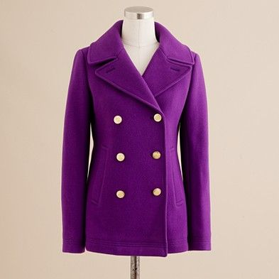 If only I didn't have eleventy-nine coats already... JCrew majesty ...