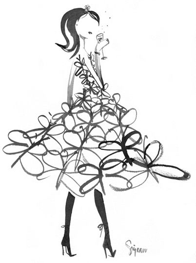 Discovered Sujean Rim's site... loving the illustrations on her website (http://www.sujeanrim.com)