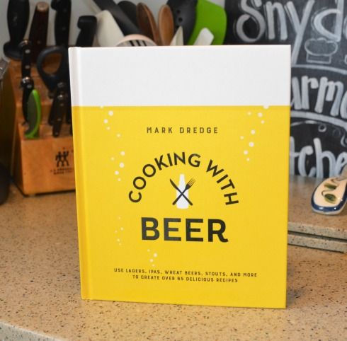 Cooking with Beer by author Mark Dredge #sponsored book review on Two Classy Chics blog.