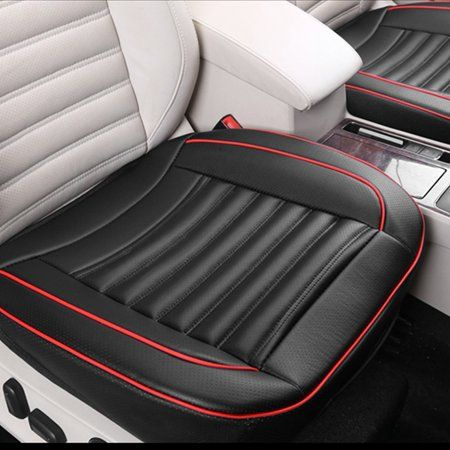Pu Leather Car Front Row Seat Cushion Universal Auto Interior Seat Cover Leather Car Seats Leather Car Seat Covers