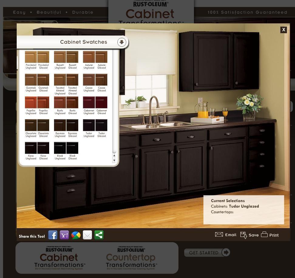 Rustoleum Cabinet Transformations Rust Oleum Cabinet