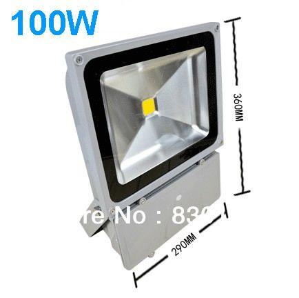 Led 100w Spotlights Advertising Signs Factory Lights Floodlight