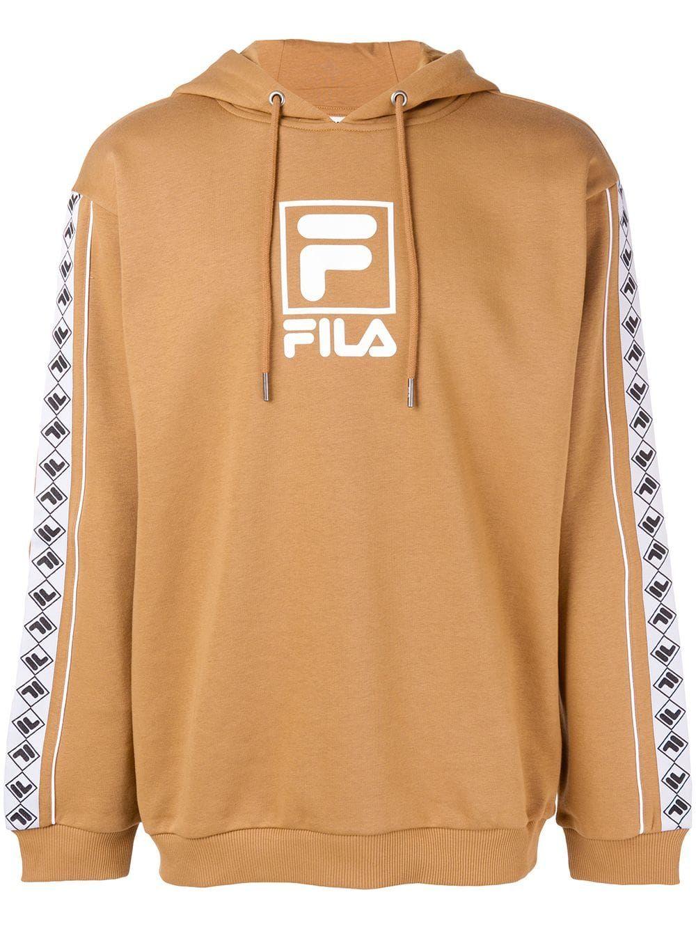 b3a874c9c7ff FILA FILA CONTRAST LOGO HOODIE - NEUTRALS.  fila  cloth