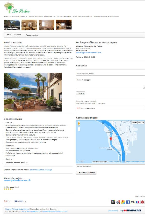 Albergo, Bissone, Lugano, Pizzeria, Wine Bar, Banchetti