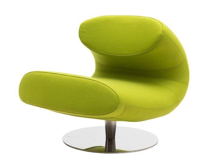 rio sessel wohnzimmer drehsessel softline filz gr ne. Black Bedroom Furniture Sets. Home Design Ideas