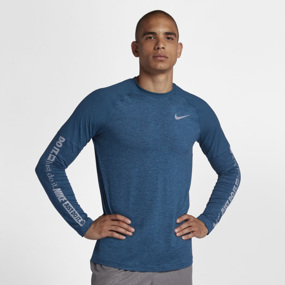 76ca3eca9 Element Men's Long-Sleeve Running Crew | Products | Long sleeve ...