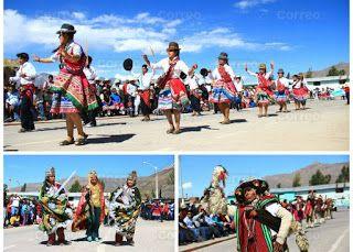 CON PASACALLE INAUGURAN PRIMER FESTIVAL TURISTICO DEL VALLE DE LOS VOLCANES | ORCOPAMPA
