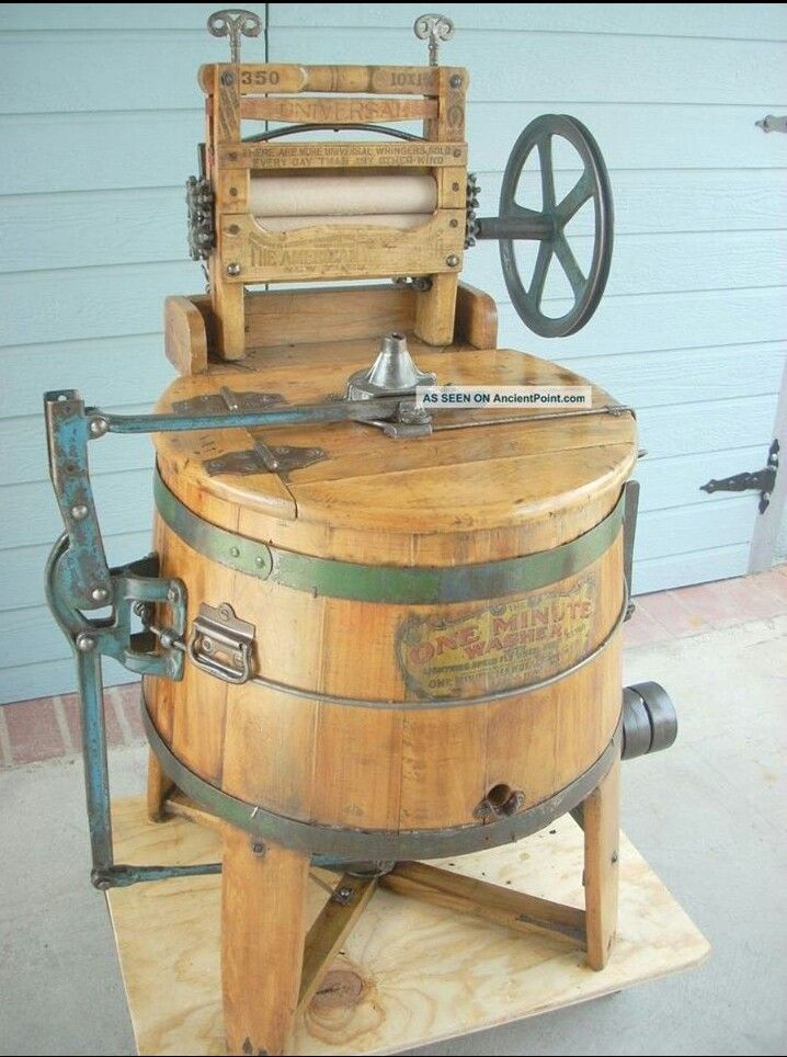 1920 Washing Machine ~ One minute washer ★ s a d th century
