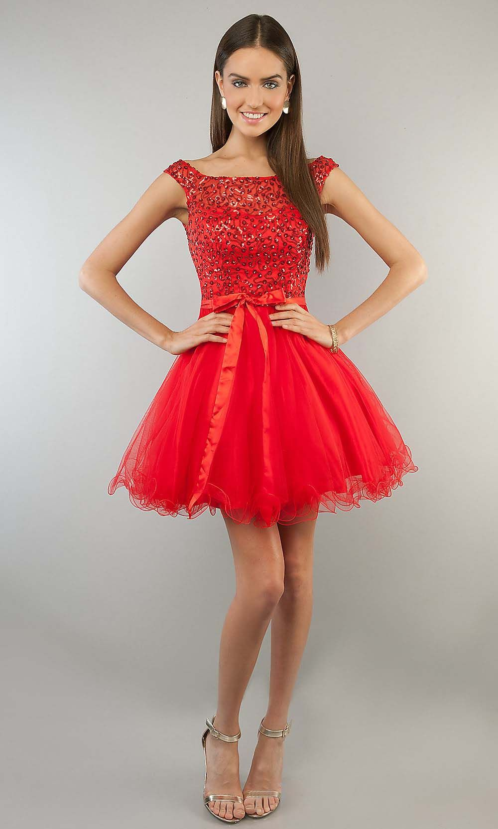 Lady in red short red prom dresses cocktail dress prom