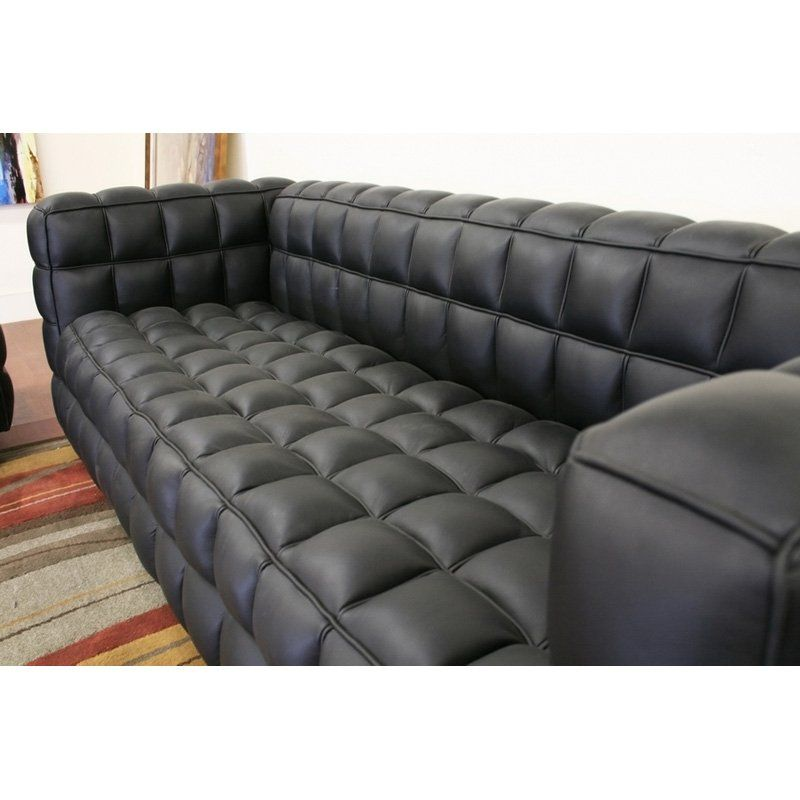 Have To Have It Wholesale Interiors Arriga Black Leather Sofa