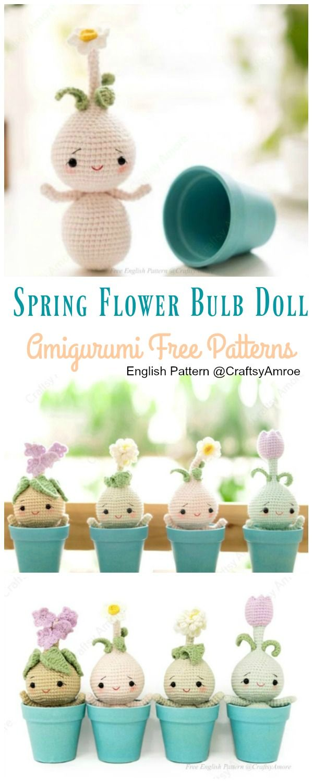 Crochet Sweet Snail Amigurumi Free Patterns