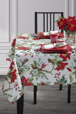 Top 13 Best Christmas Tablecloths In 2020 Christmas Table Cloth Table Cloth Decor