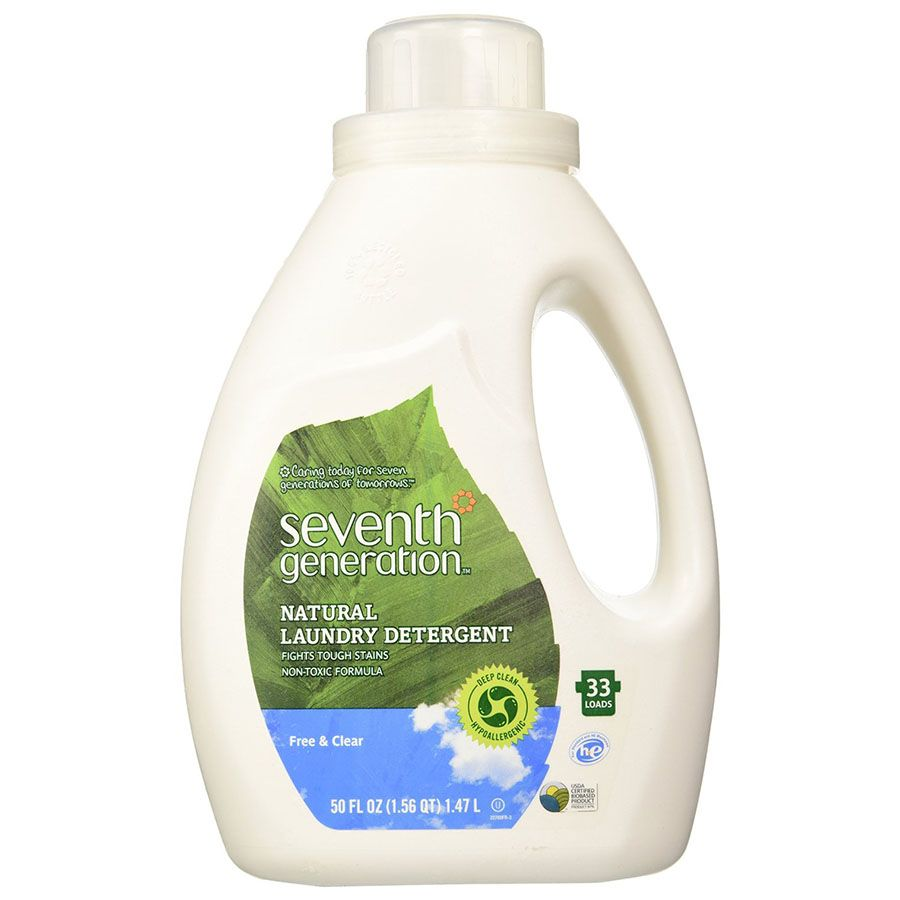 SEVENTH GENERATION FREE & CLEAR LAUNDRY DETERGENT ...