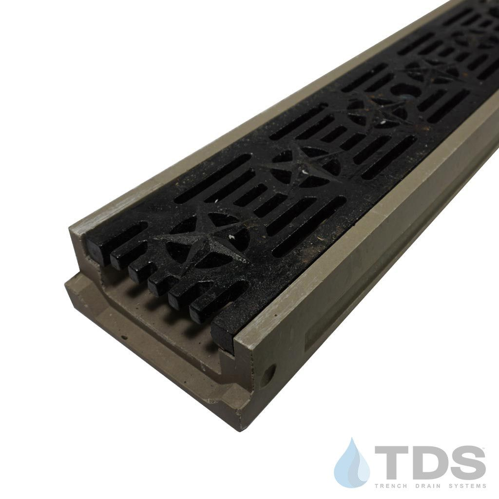 Fancy Beautiful Pool Deck Drain Channel Pool Deck Drain Channel Elegant Polycast 500 Drainage Kit W Deco Ductile Iron Grate The Patriot