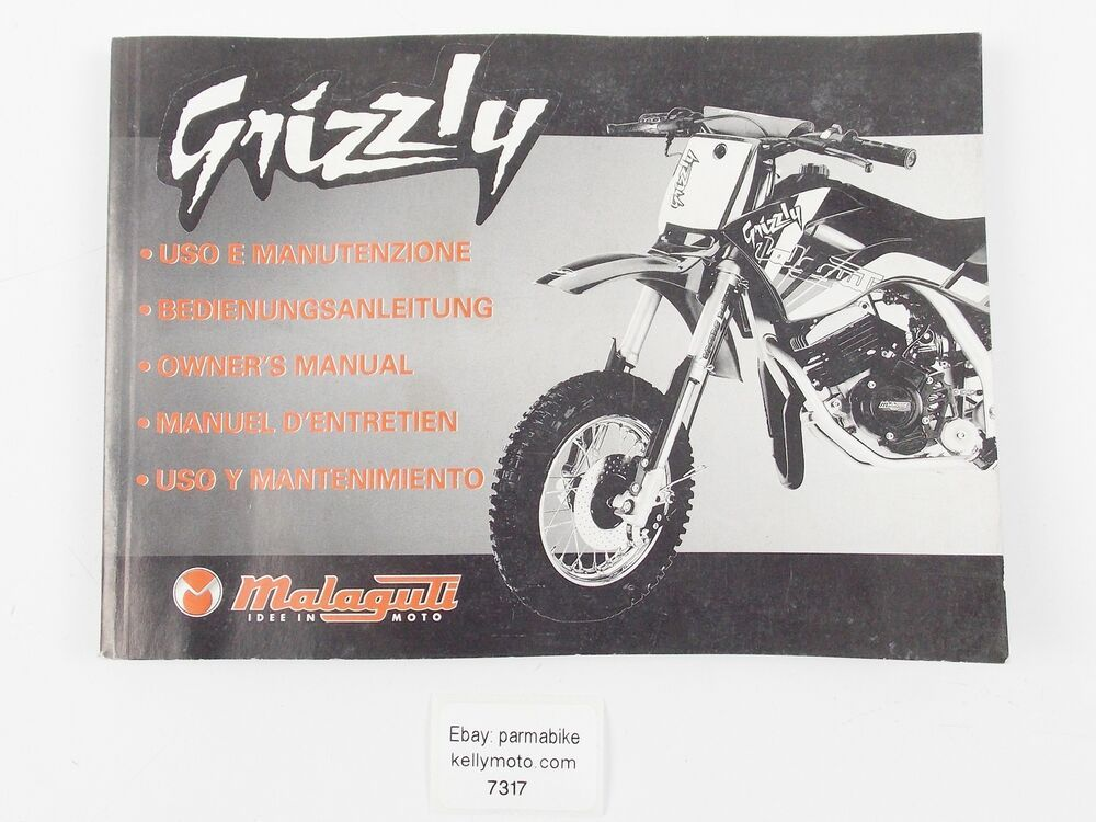 malaguti grizzly workshop manual
