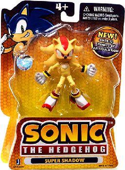 Sonic The Hedgehog Super Shadow 3 5 Inch Tall Figure Hobbystuf Super Shadow Sonic The Hedgehog Sonic