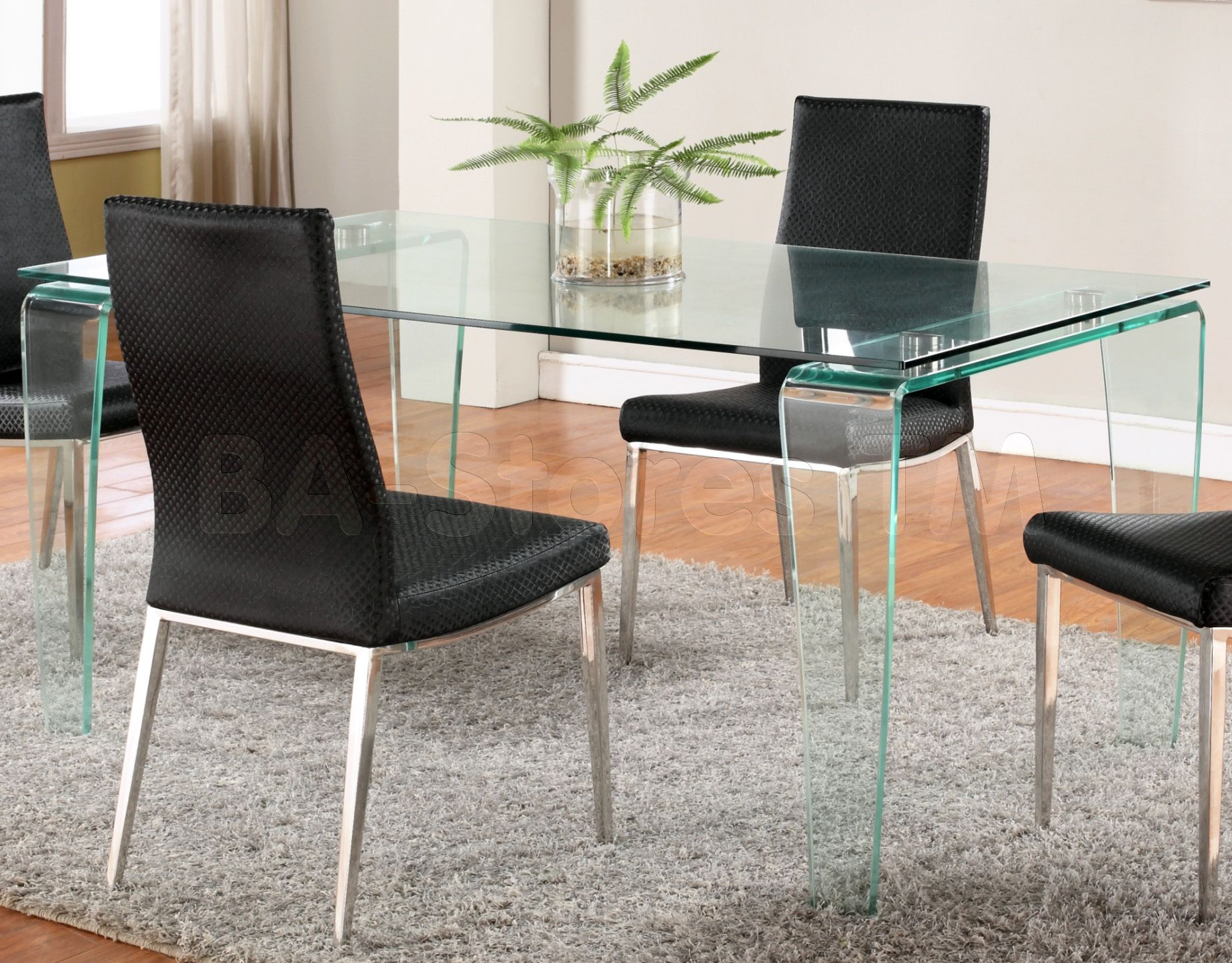 Modern Sleek Narrow Wenge Dining Table Tables Square Round Gl And