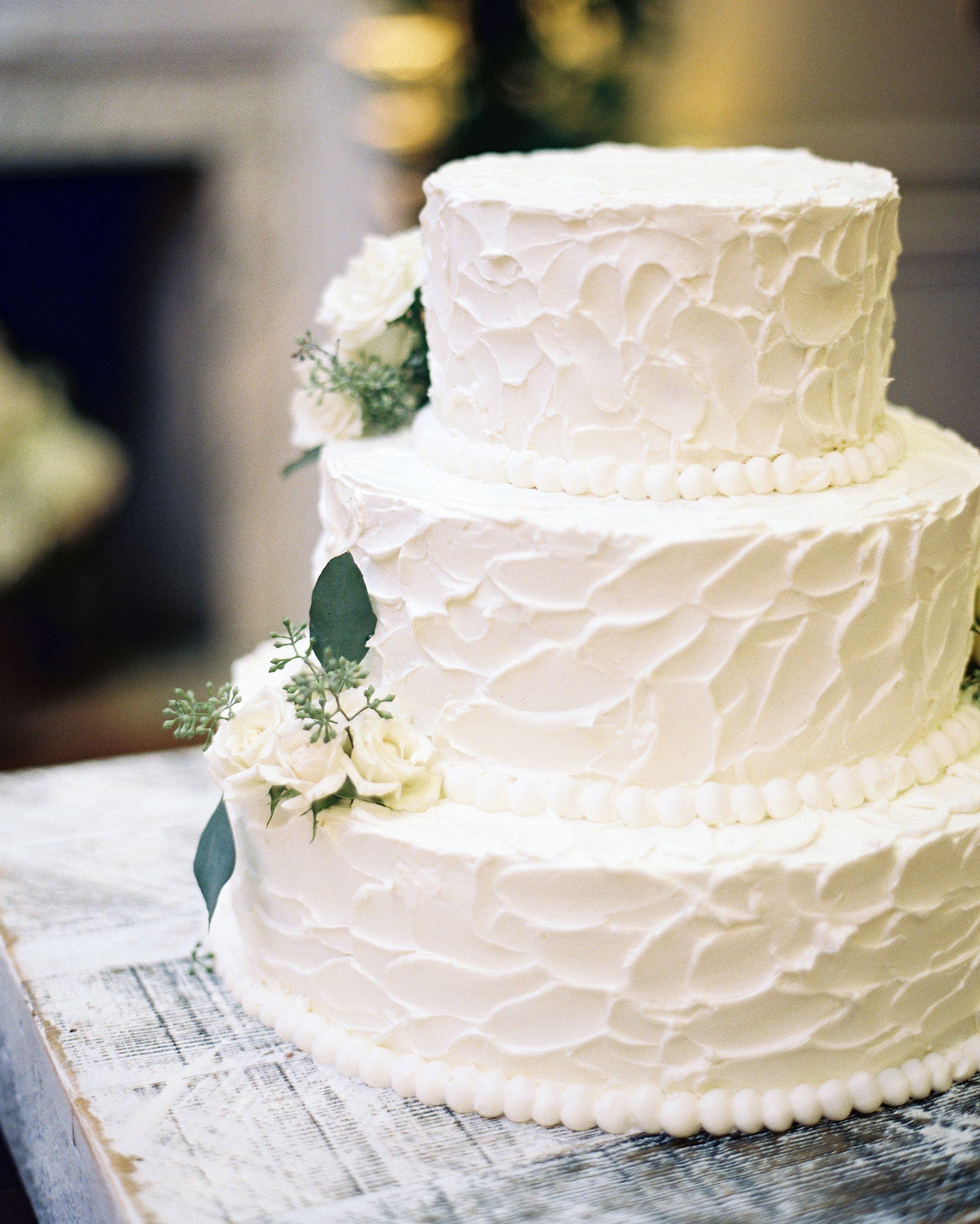 Romantic Wedding Cakes Classic White Cool