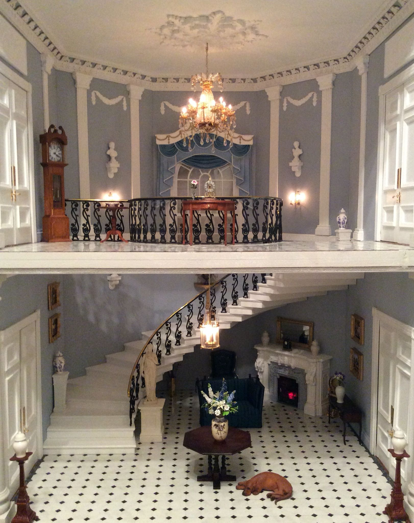 Designer dioramas miniature rooms - Dolls House Grand Designs Co Uk One Of Our Designs
