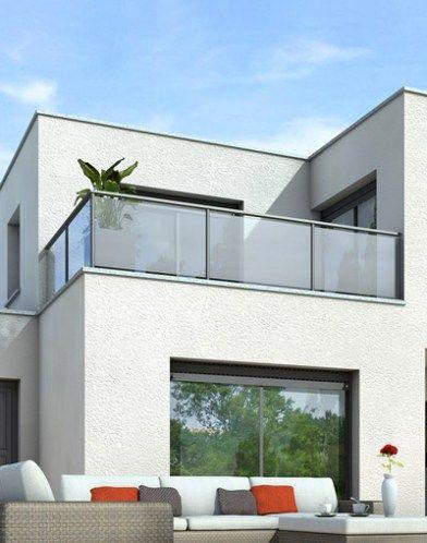 Maison à toit terrasse - maison toit plat Créer Pinterest Opaline