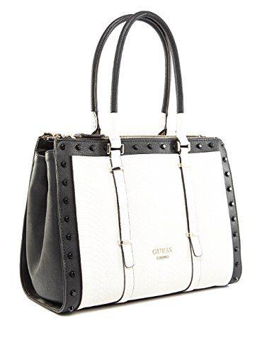 Guess Handtasche Schwarz Weiß