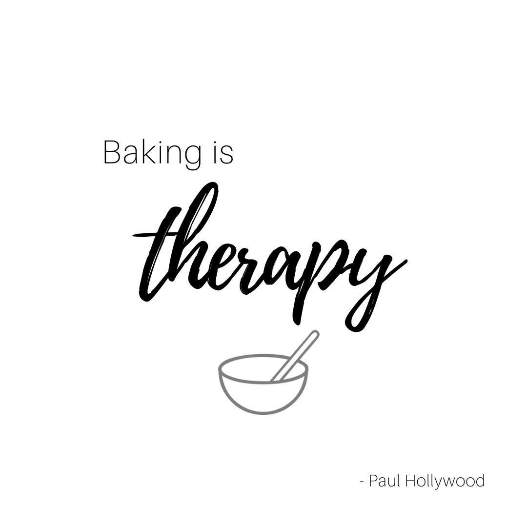 Baking Is Therapy Paul Hollywood Bakingquotes Baking Paulhollywood Cookies Sugarcookies Baking Quotes Baking Quotes Funny Therapy Quotes
