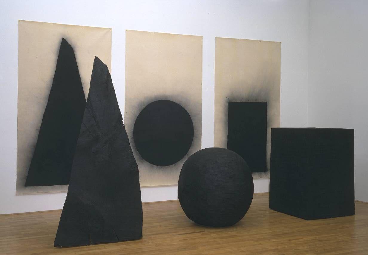 pyramid, sphere, cube, 1997-1998—david nash:: tate