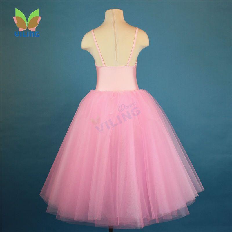 d4a9747d5eb Pas cher Ballerine ballet long tutu robe costume de danse tutus pour les  filles femmes