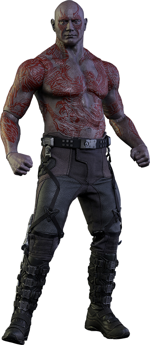 Hot Toys Drax the Destroyer Sixth Scale Figure Marvel Movies