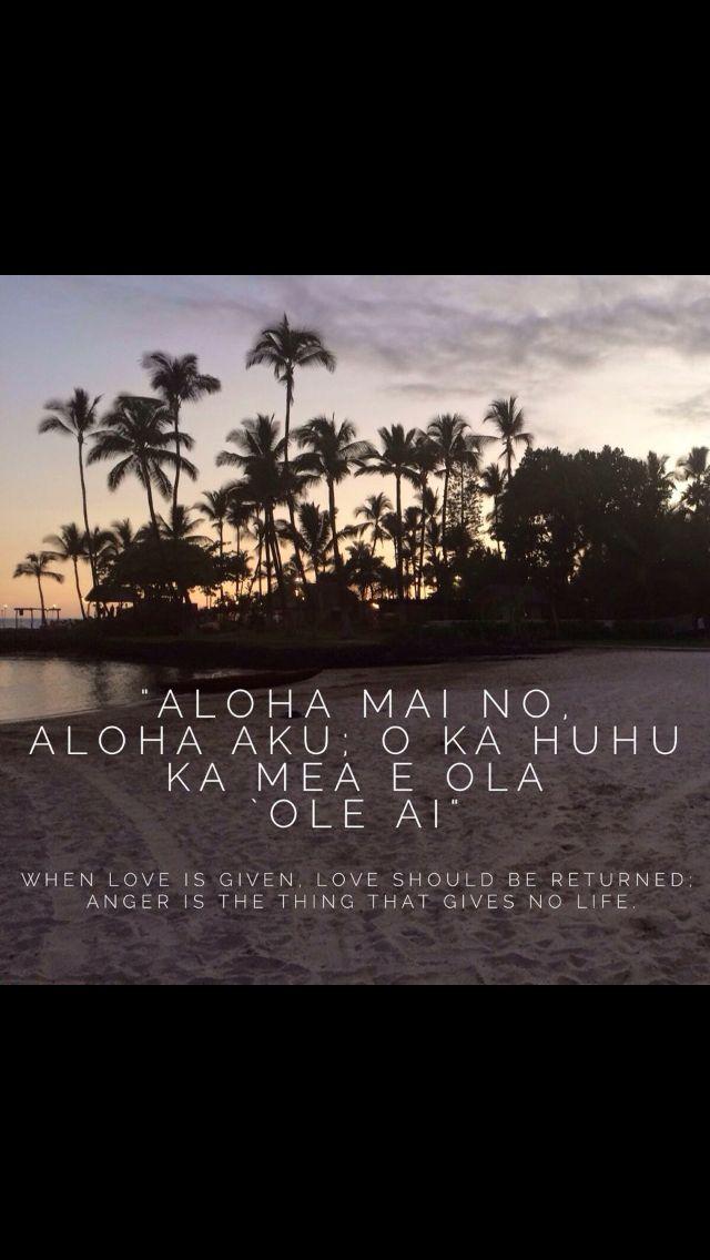 Hawaiian Quotes : hawaiian, quotes, Given,, Should, Returned., Anger, Thing, Gives, Life.