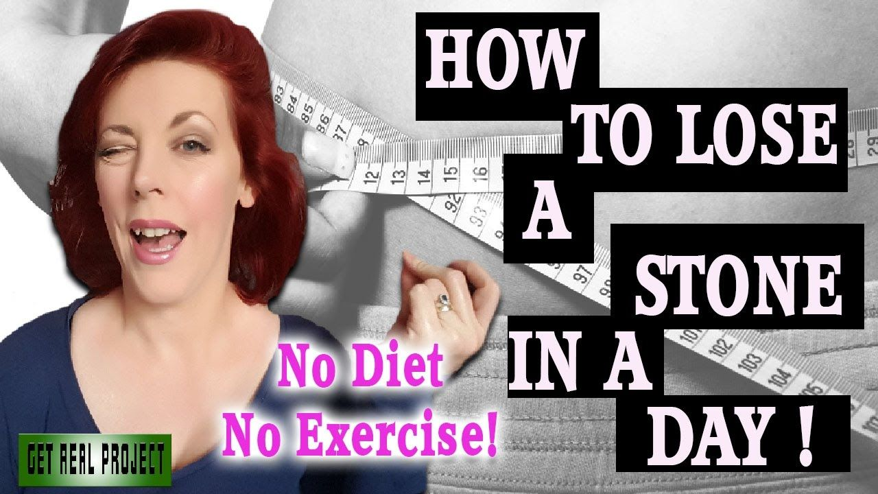 I'LL SHOW YOU HOW To Lose A Stone In A DAY (with just your wardrobe) | N...