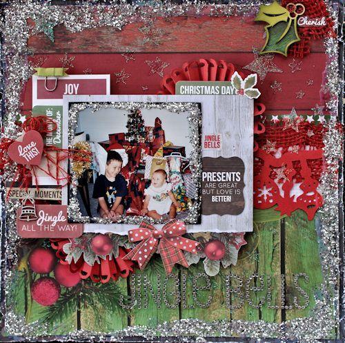 Kaisercraft - Basecoat Christmas - Alison Bevis