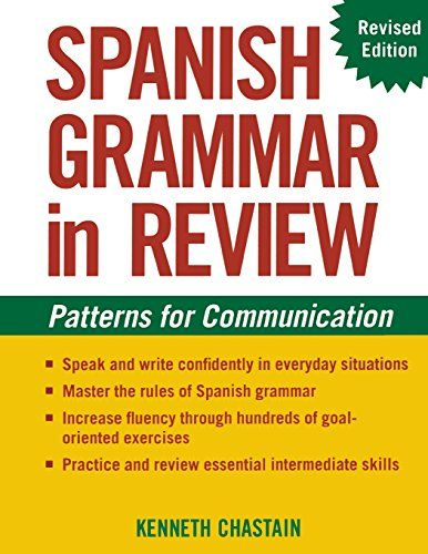 Download free Spanish Grammar in Review pdf | Spanish
